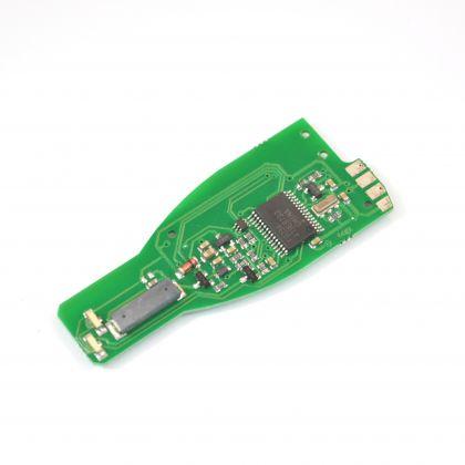 TA12 - PCB for Merc IR Key Fob for Case  433 Mhz Chrome