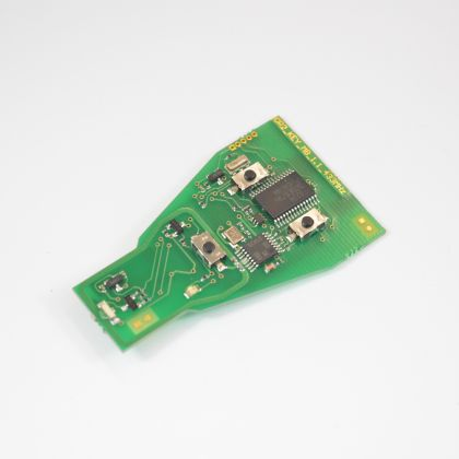 TA13 - PCB for Mercedes IR Key for small black case type 433Mhz