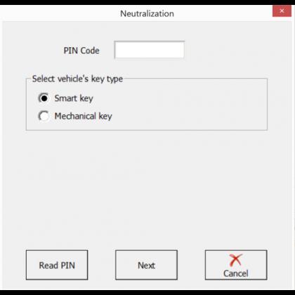 HK009 Hyundia Module Neutralisation Function