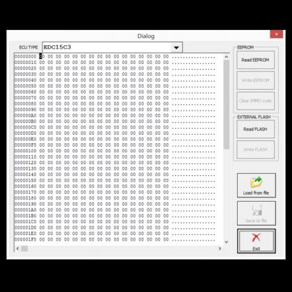 RR011 ECU Read/Write Function
