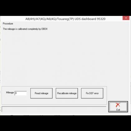 VN015 Milage Recalibration for VAG (Excluding MQB Vehicles)